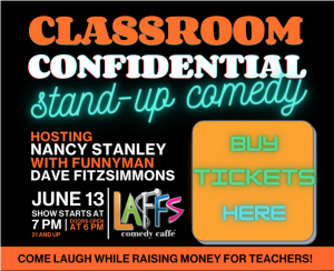 Buy Tickets for Classroom Confidential Comedy Show June 13th